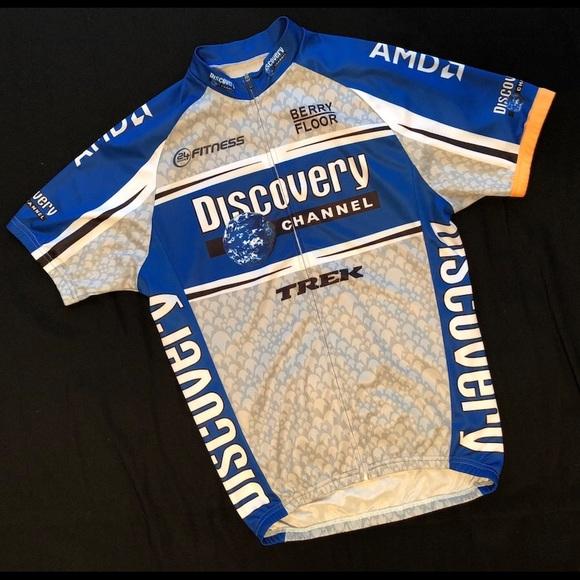 finest selection 908a7 a8123 Discovery Trek Team Men's Bike Jersey (MD)